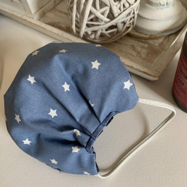 Masque coton et toile enduite